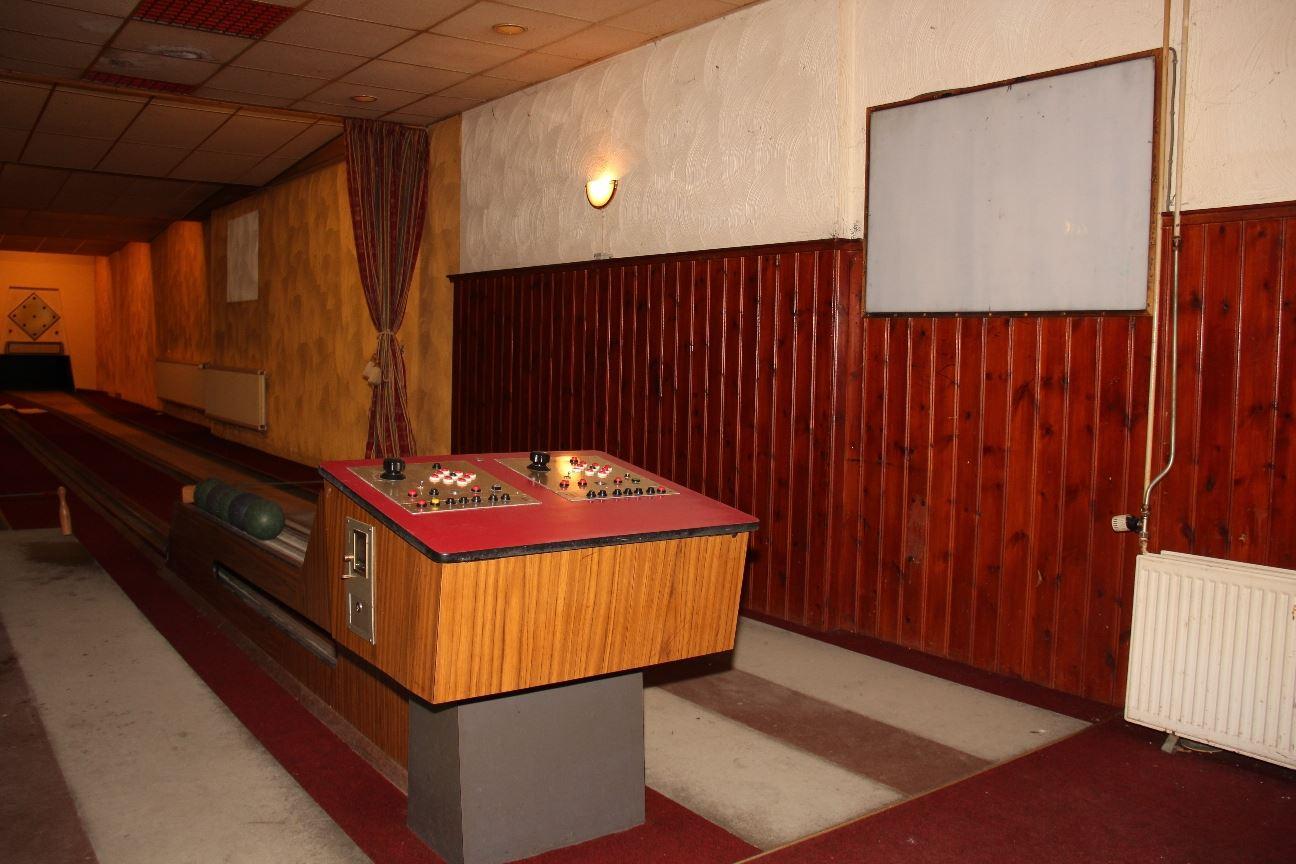 Een voormalig café met eigen kegelbaan in Venray