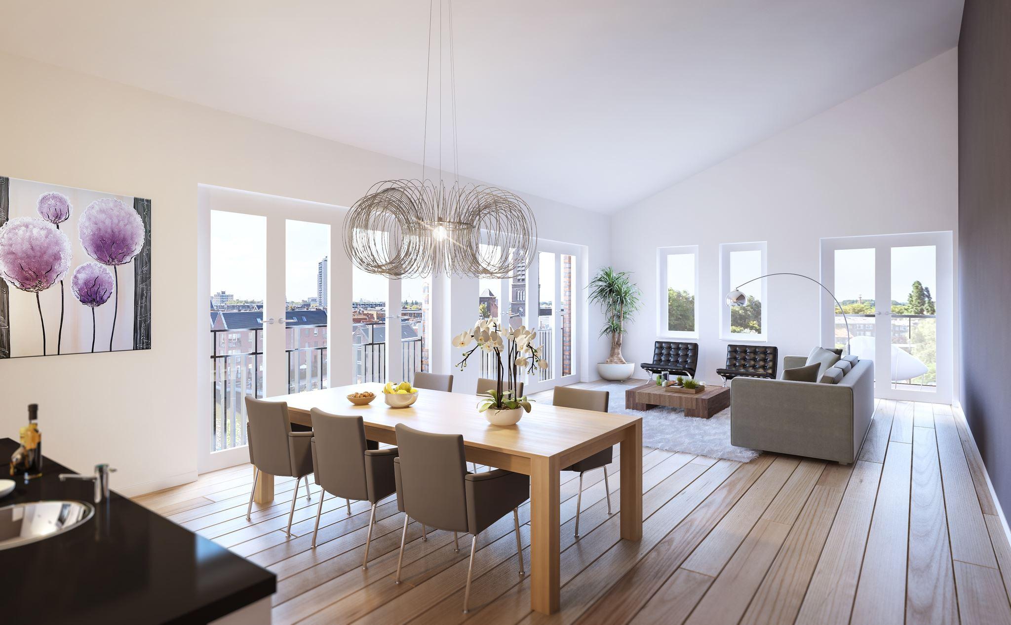 Appartement te koop: Loft, Park en Oude Haven appartementen ...