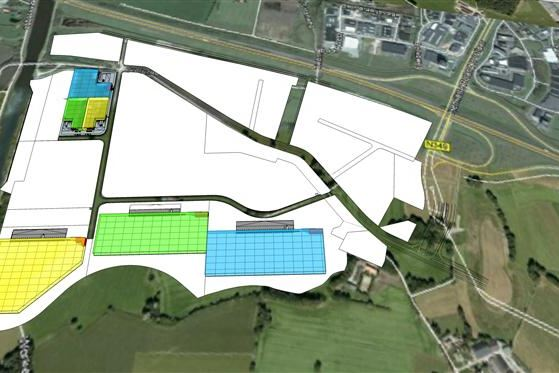 Bedrijfshal te huur xl businesspark twente 7609 rl almelo for Funda woonboerderij twente