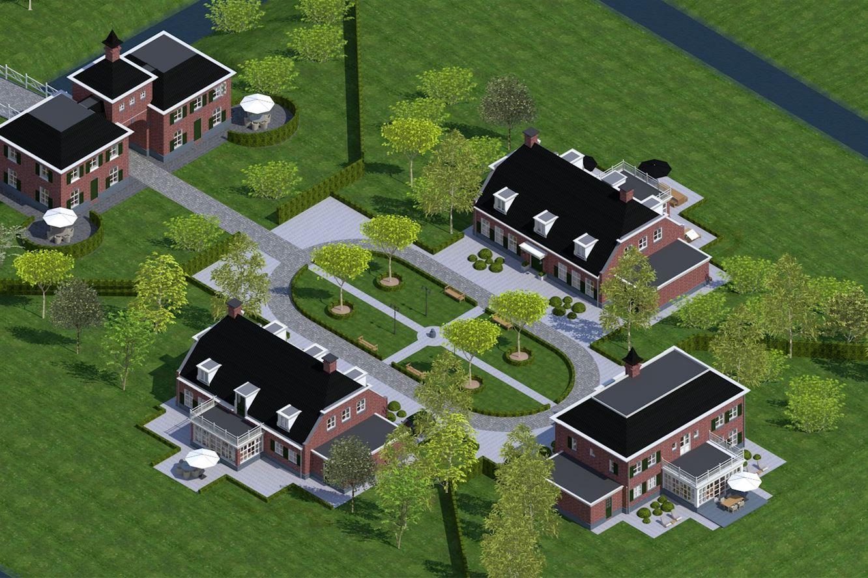 Nieuwbouwproject te koop landgoed het eethense weideland for Funda landgoed