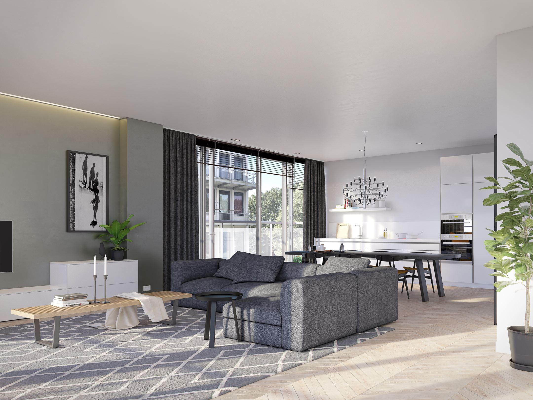 Appartement te koop: rise residence 4 kamer appartement (bouwnr. 1 ...