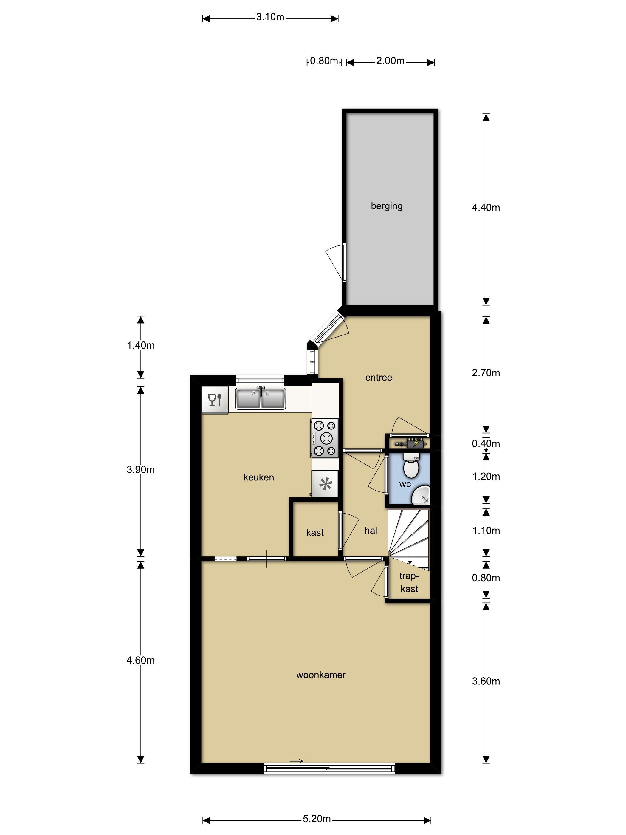 Huis te koop tamboer 165 6866 eh heelsum funda - Foto moderne inbouwkeuken ...