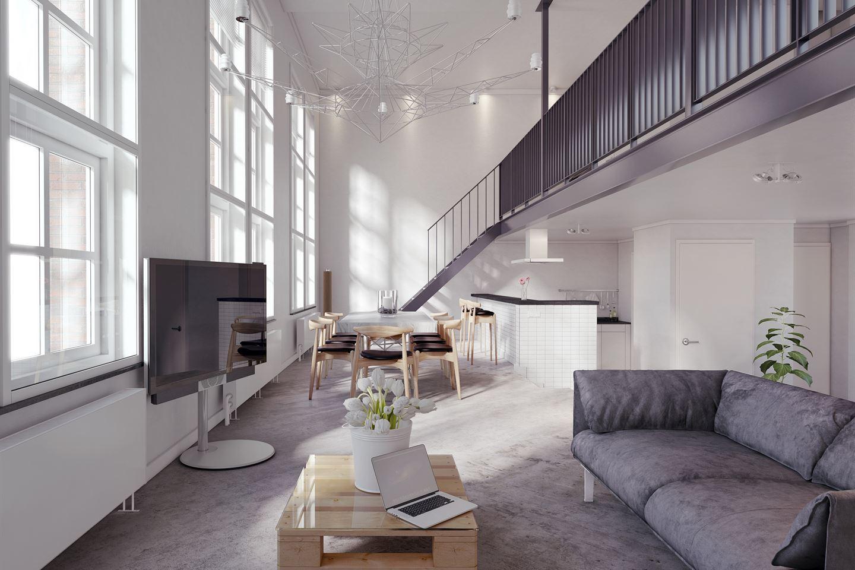 Verkocht loft appartementen 3 l3 3312 cm dordrecht funda - Huis loft ...