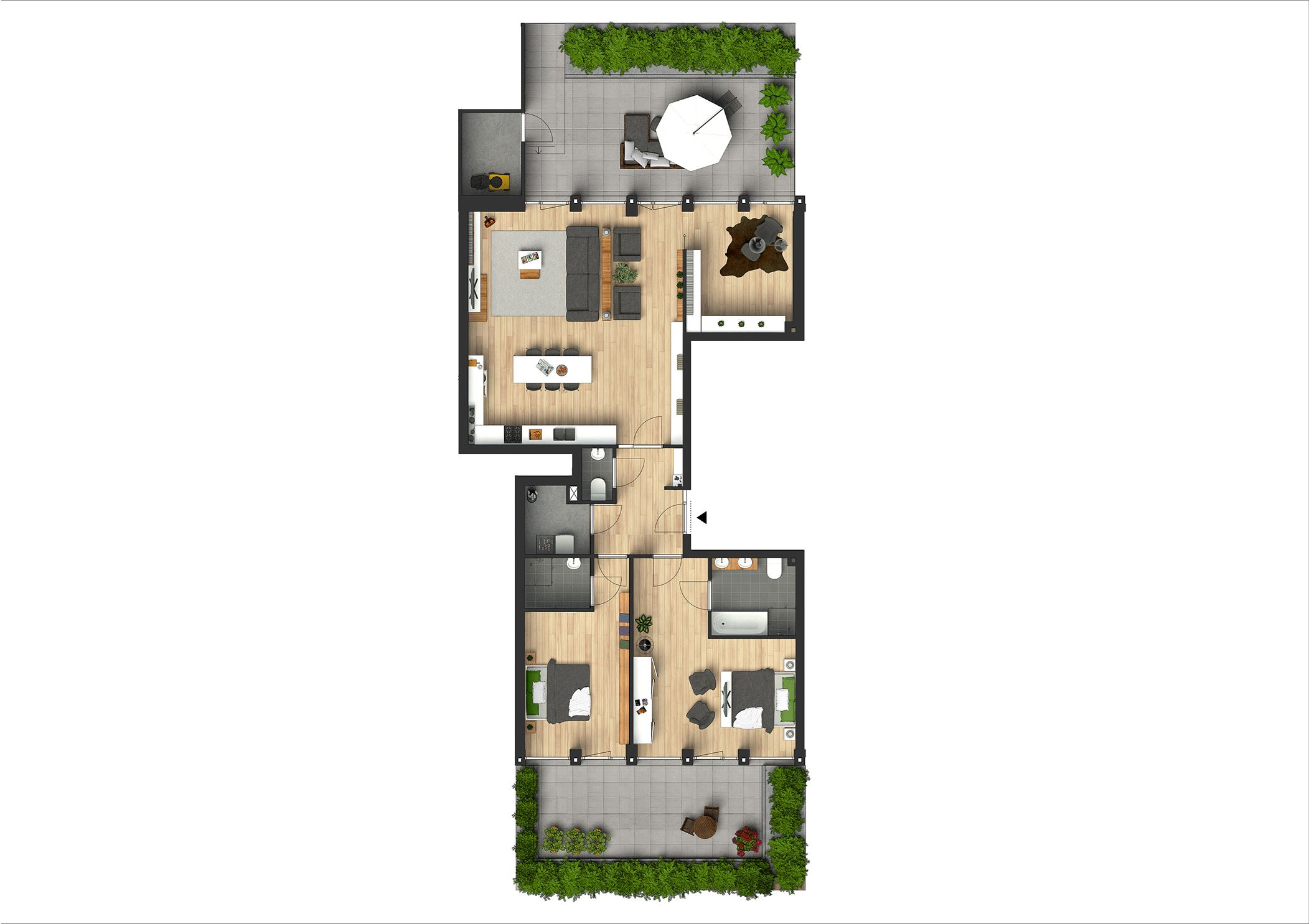 Verkocht stadhoudersplantsoen 4 kamer appartement bouwnr 23 2517 jl den haag funda - Ondergrondse kamer ...