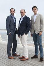Peter Burger, Ted Luijk en Mark Jonkman - Afd. buitendienst