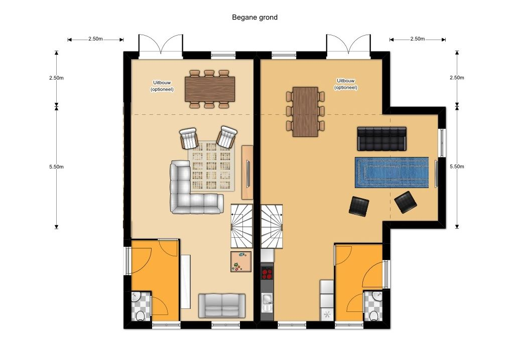 Bekijk foto 3 van bouwnummer (Bouwnr. 1)