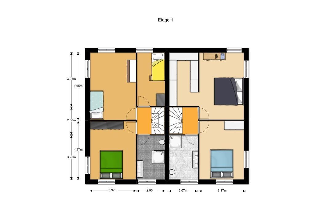 Bekijk foto 4 van bouwnummer (Bouwnr. 1)