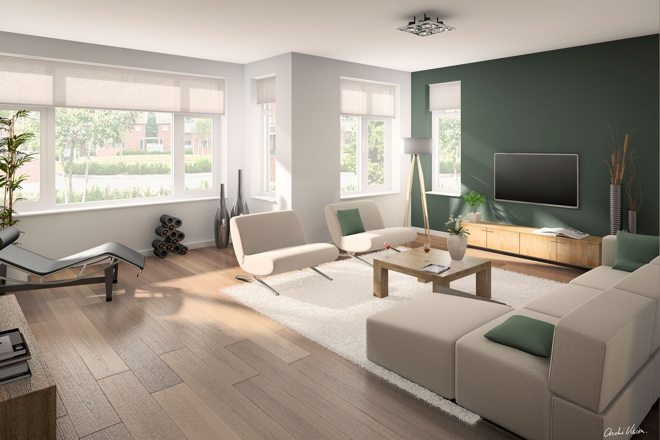 Verkocht bouwnummer bouwnr 5b 3264 nieuw beijerland for Kleurenpalet interieur
