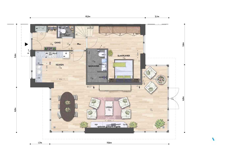Verkocht: Leidsevaart, bouwnummer 2 2182 NH Hillegom [funda]
