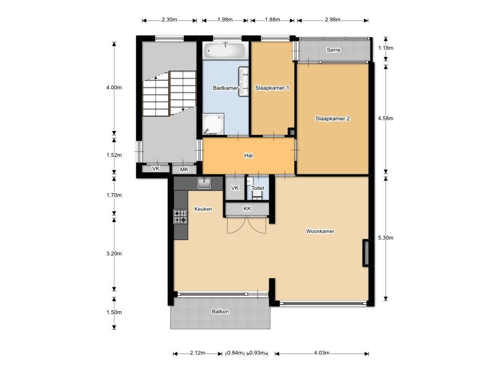 Verkocht  Kastelenstraat 211 I 1082 EE Amsterdam [funda]