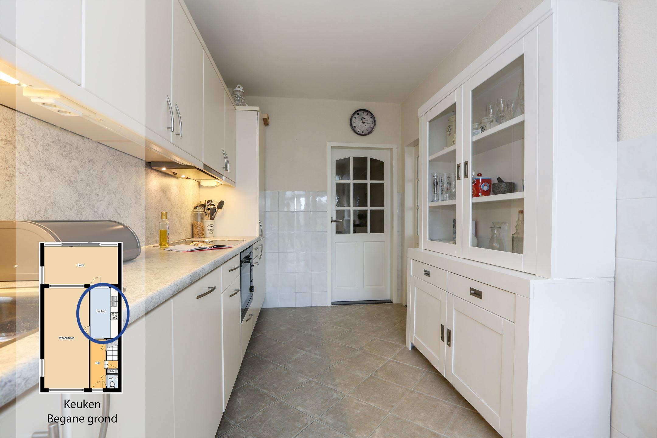 Keuken in nieuwe serre met vloerverwarming aannemer tommy hachmer
