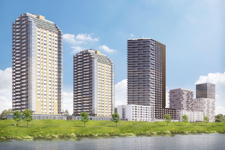 Nieuwbouwproject te koop terras aan de maas toren ii funda