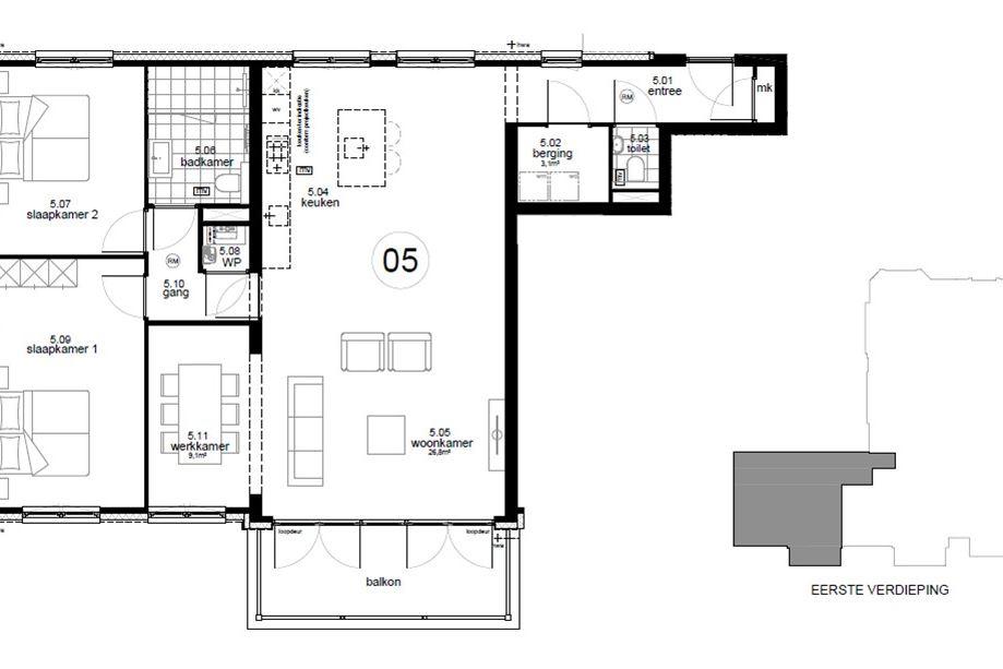 Apartment for sale: Bouwnummer 5 (Bouwnr. 5) 1217 SM Hilversum [funda]