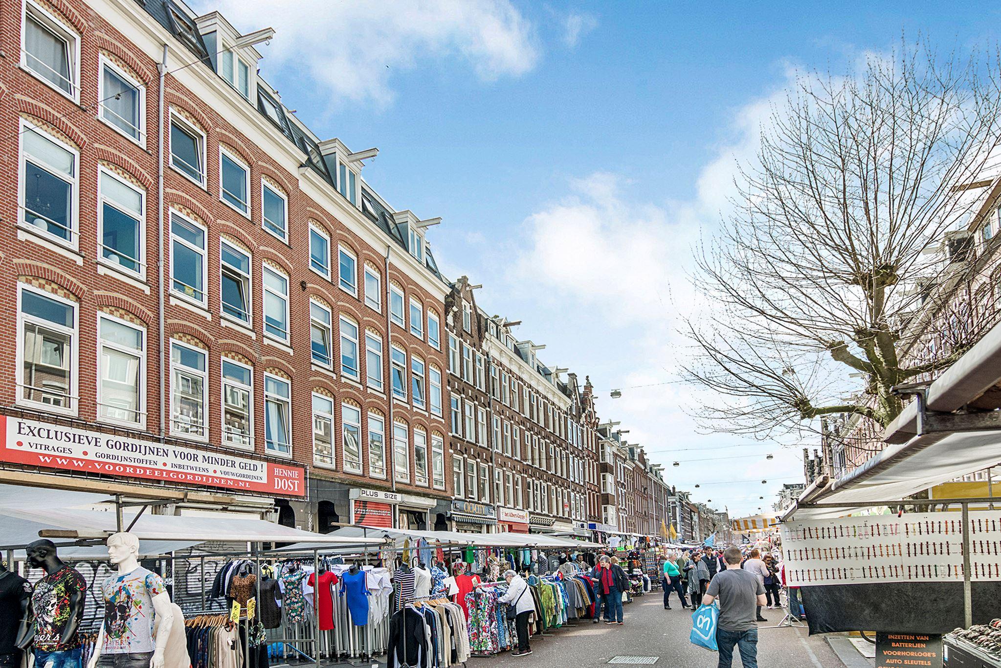 Verkocht: Albert Cuypstraat 266 4V 1073 BR Amsterdam [funda]