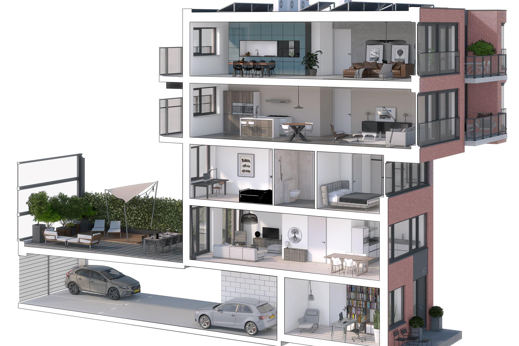 Stoer Inpandig Balkon : Verkocht: bouwnummer bouwnr. 26 2983 gw ridderkerk [funda]