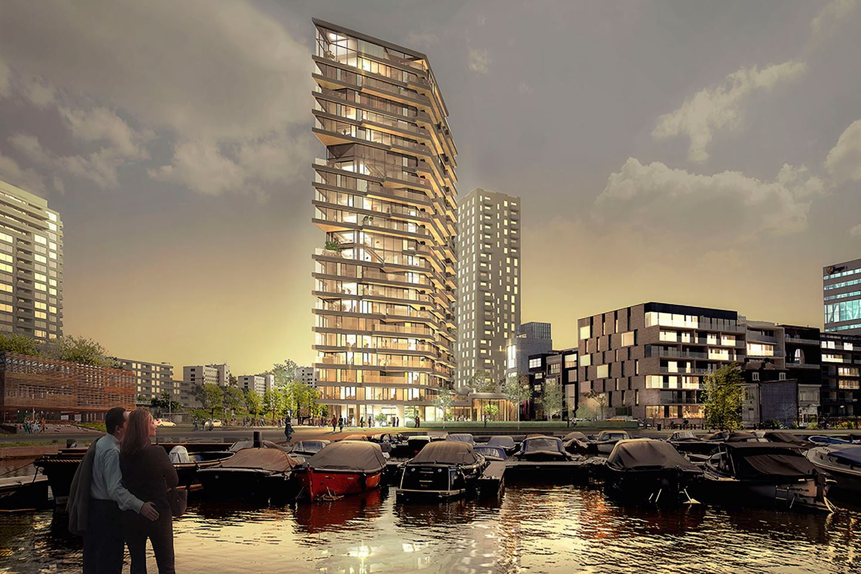 Verkocht haut urban korte ouderkerkerdijk bouwnr 9 2 for Funda amsterdam watergraafsmeer