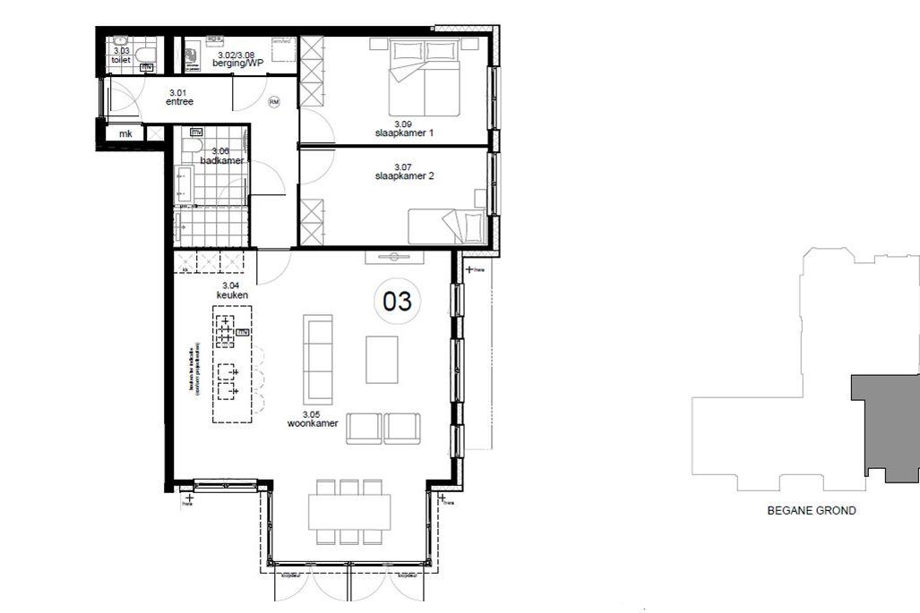 Appartement te koop: Bouwnummer 3 (Bouwnr. 3) 1217 SM Hilversum [funda]