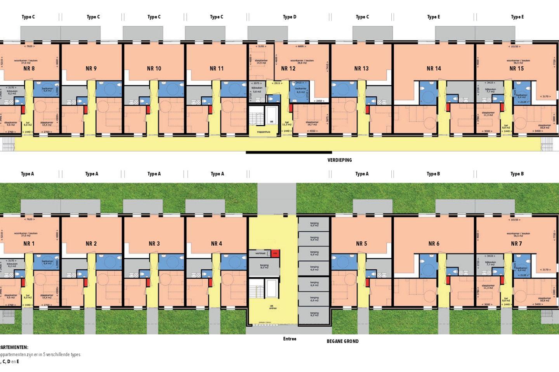 Bekijk foto 6 van Sinnesicht | Appartementen | Type E (Bouwnr. 14)