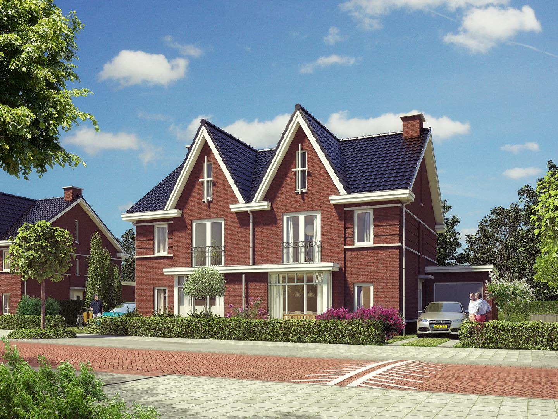 Verkocht helft van dubbele villa bouwnr 97 3712 xh for Funda dubbele bewoning