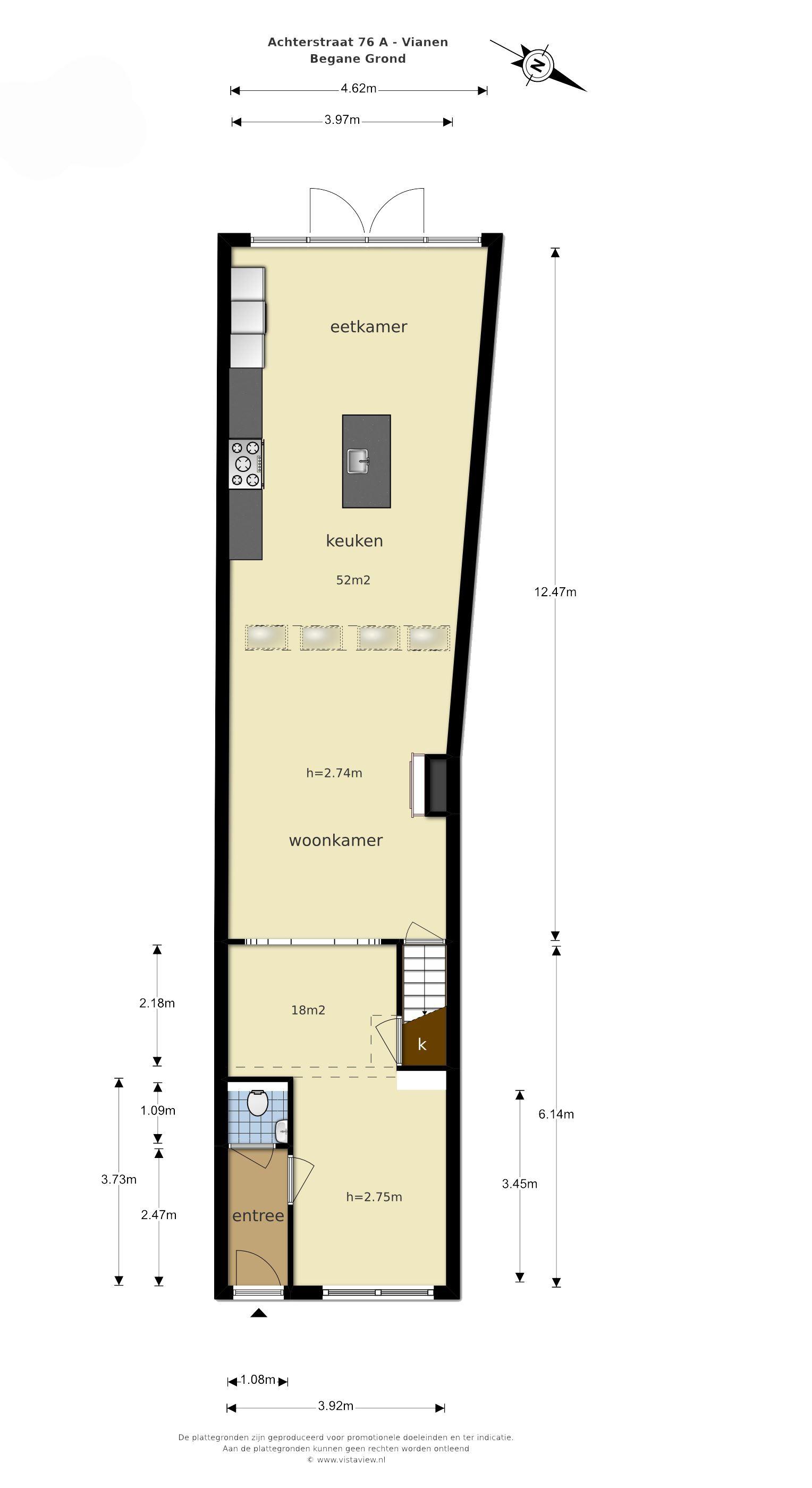 Huis te koop: Achterstraat 76 a 4132 VG Vianen [funda]