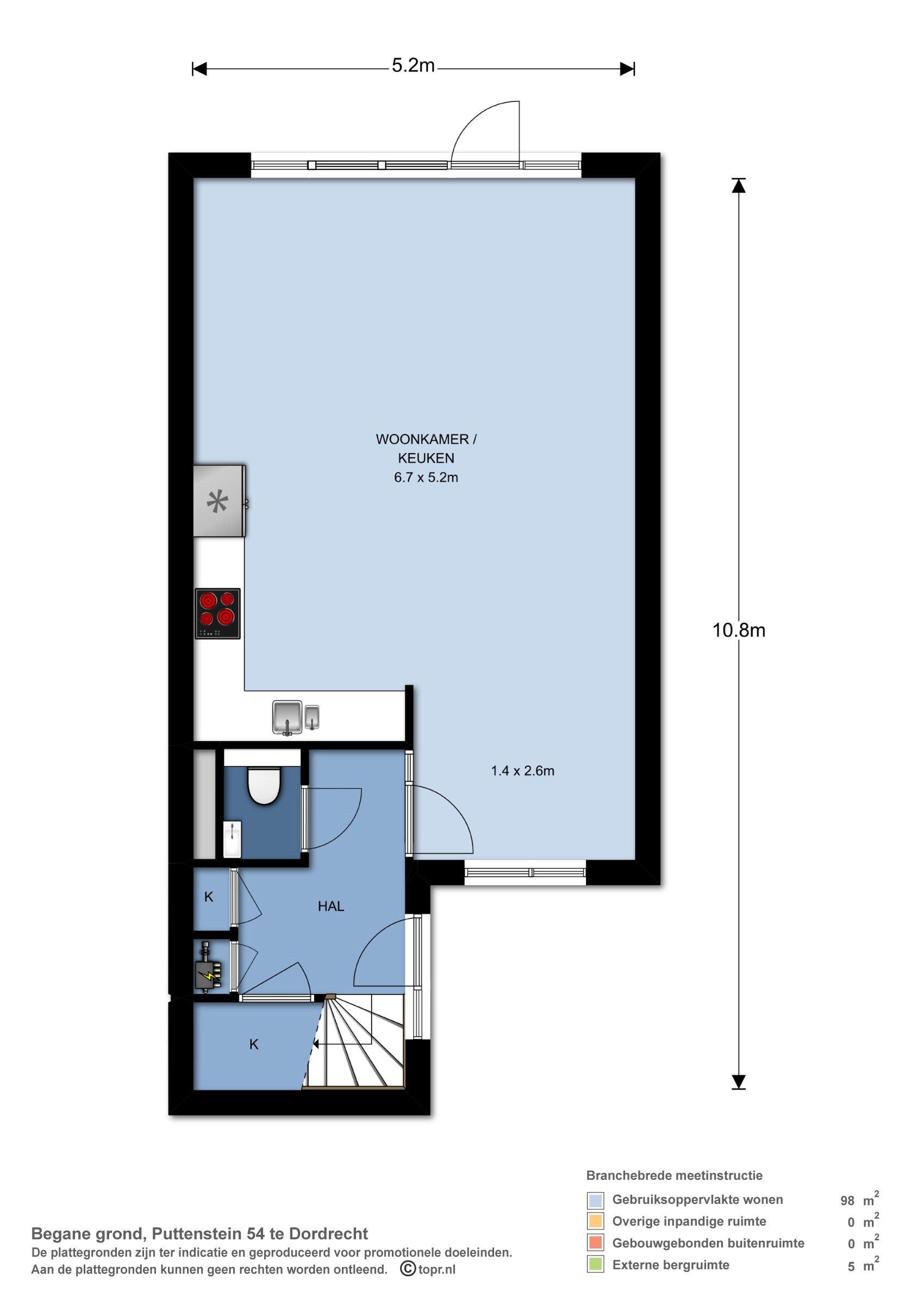 Appartement te koop: Puttenstein 54 3328 BK Dordrecht [funda]