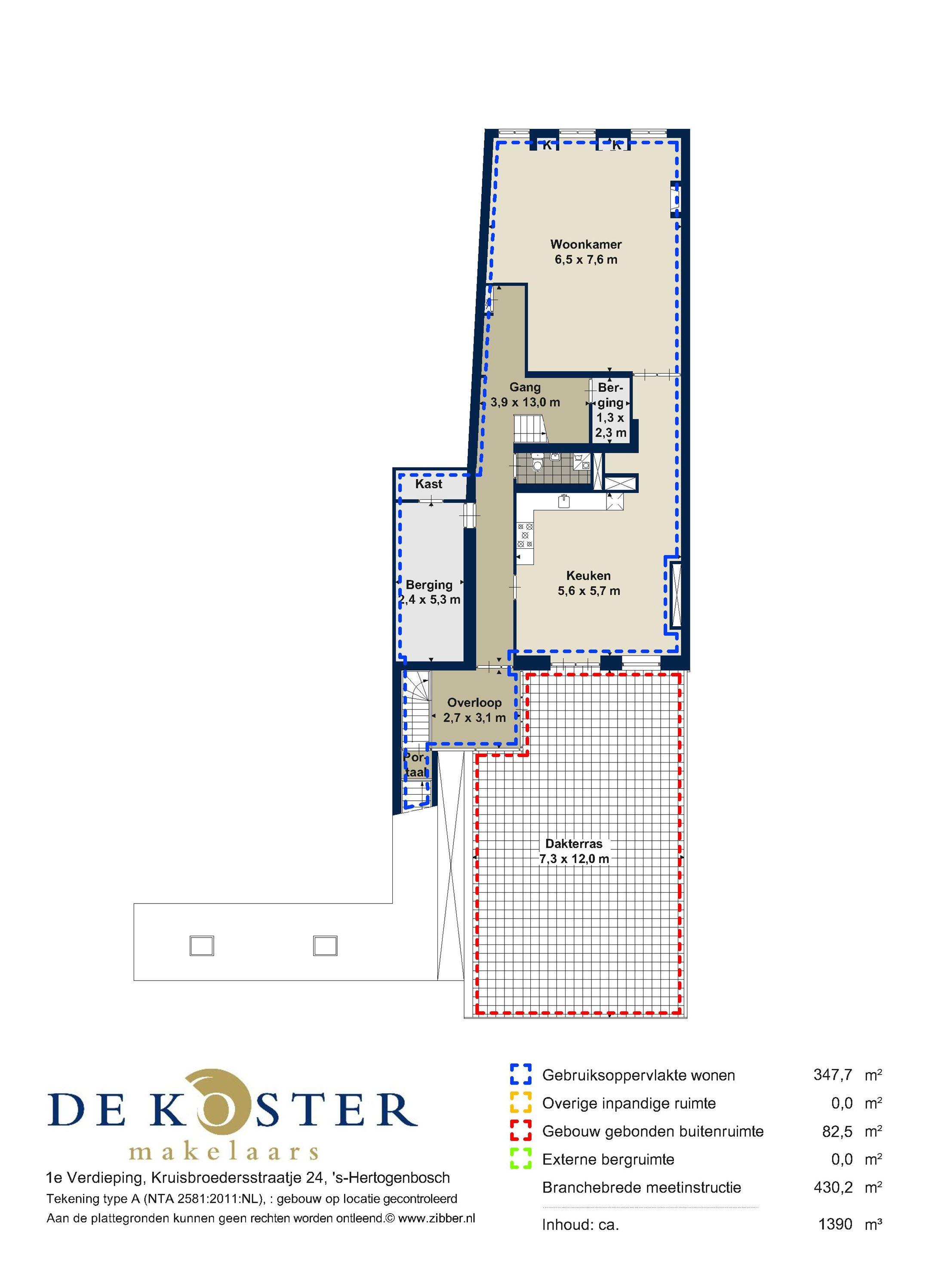 Appartement te koop: Kruisbroedersstraatje 24 5211 GZ Den Bosch [funda]