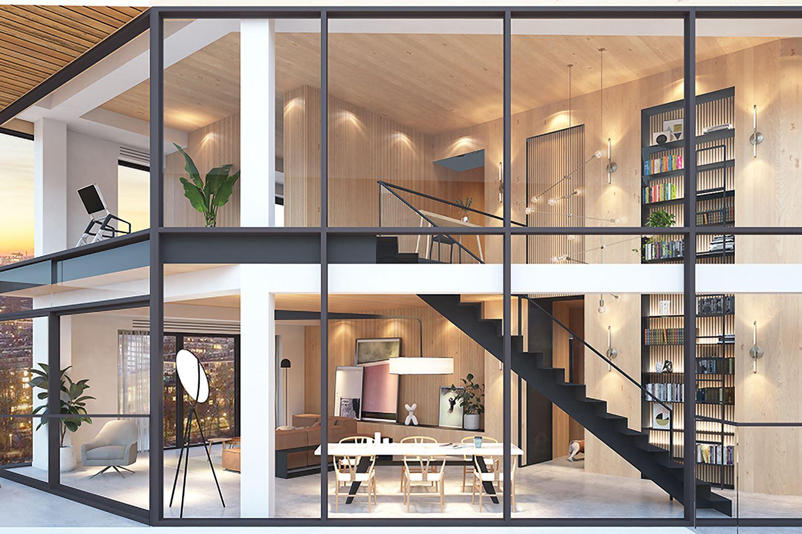 Verkocht haut villa korte ouderkerkerdijk bouwnr 14 1 for Funda amsterdam watergraafsmeer