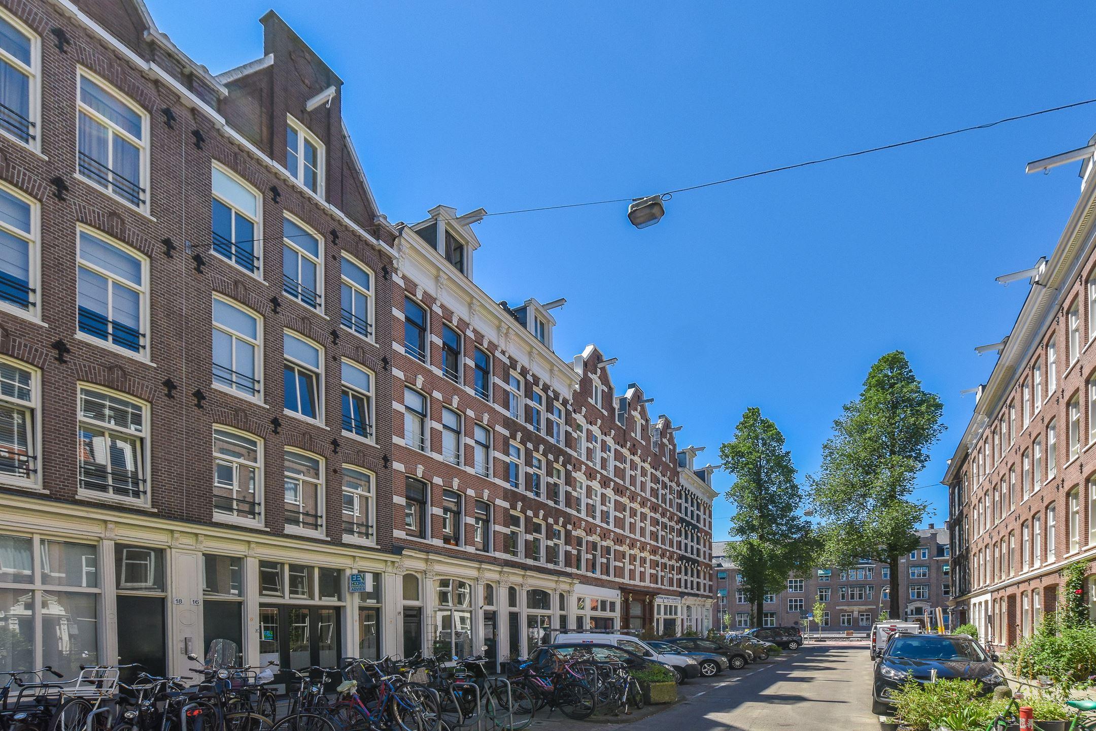 zolderkamertje in Amsterdam