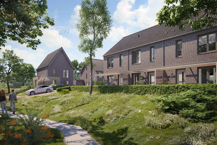 Buitenhof Oost fase 3, Tussenwoning A1 (Bouwnr. 8)