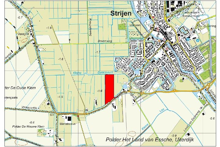 Weelsedijk, Strijen