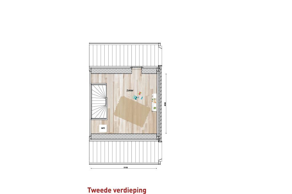 Bekijk foto 4 van Nieuw Sintmapark - tussenwoning - bnr. 2 (Bouwnr. 2)