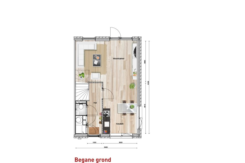 Bekijk foto 2 van Nieuw Sintmapark - hoekwoning - bnr. 1 (Bouwnr. 1)