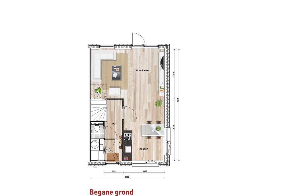 Bekijk foto 2 van Nieuw Sintmapark - hoekwoning - bnr. 8 (Bouwnr. 8)