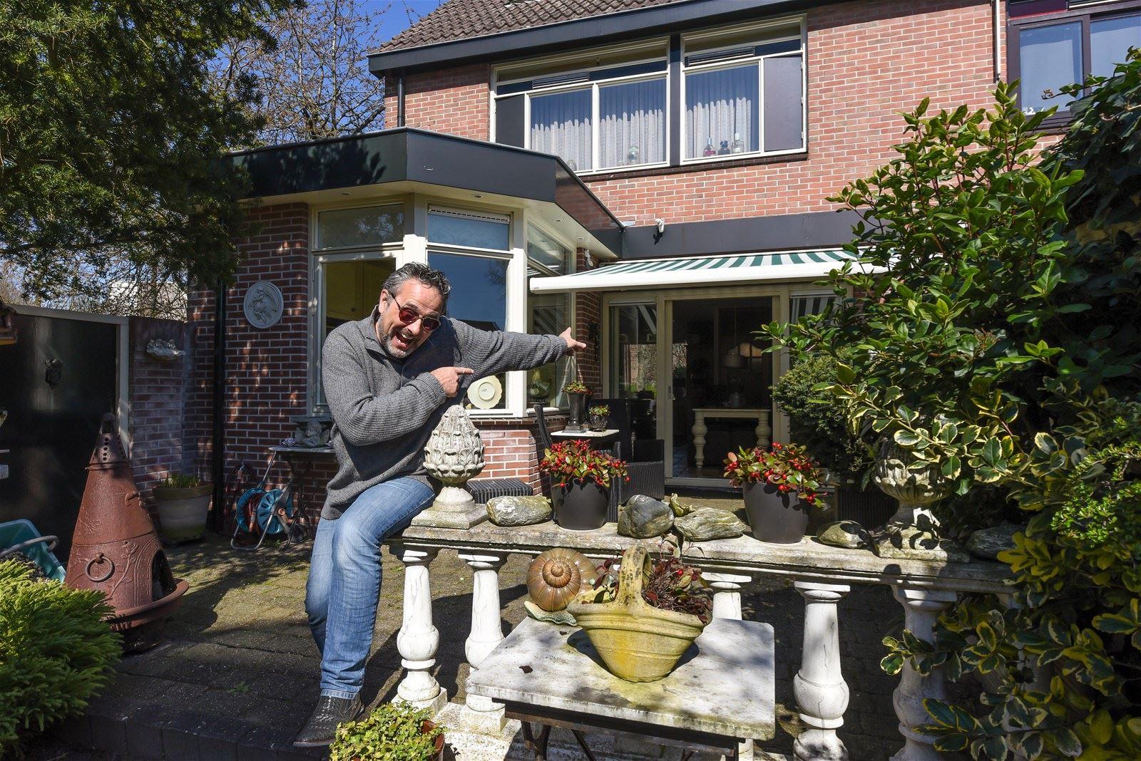 Tim wil de huizen een wat menselijker uitstraling meegeven