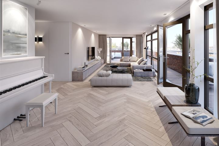 Poortgebouw penthouse bnr (Bouwnr. 501)