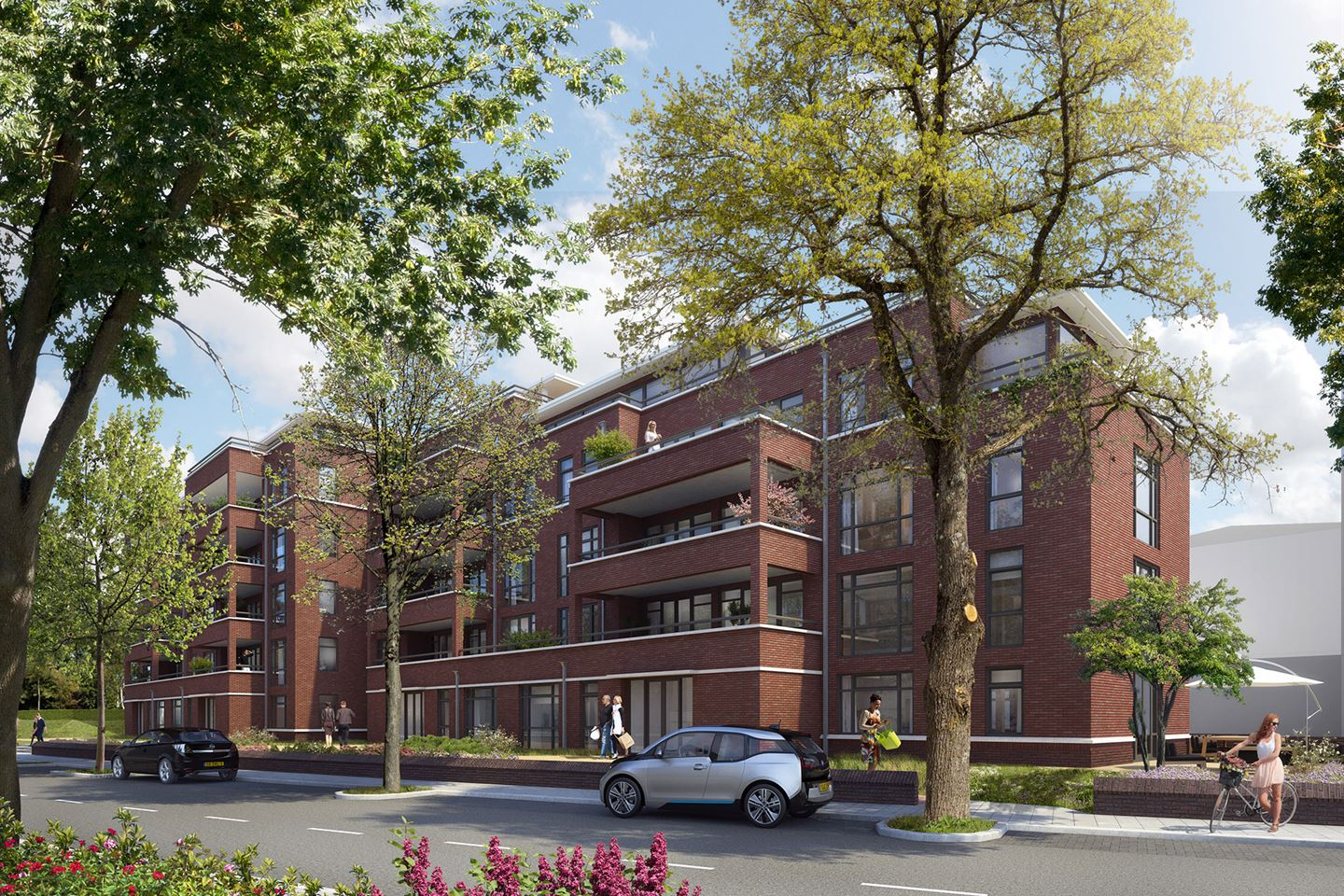View photo 2 of Poortgebouw penthouse bnr (Bouwnr. 501)