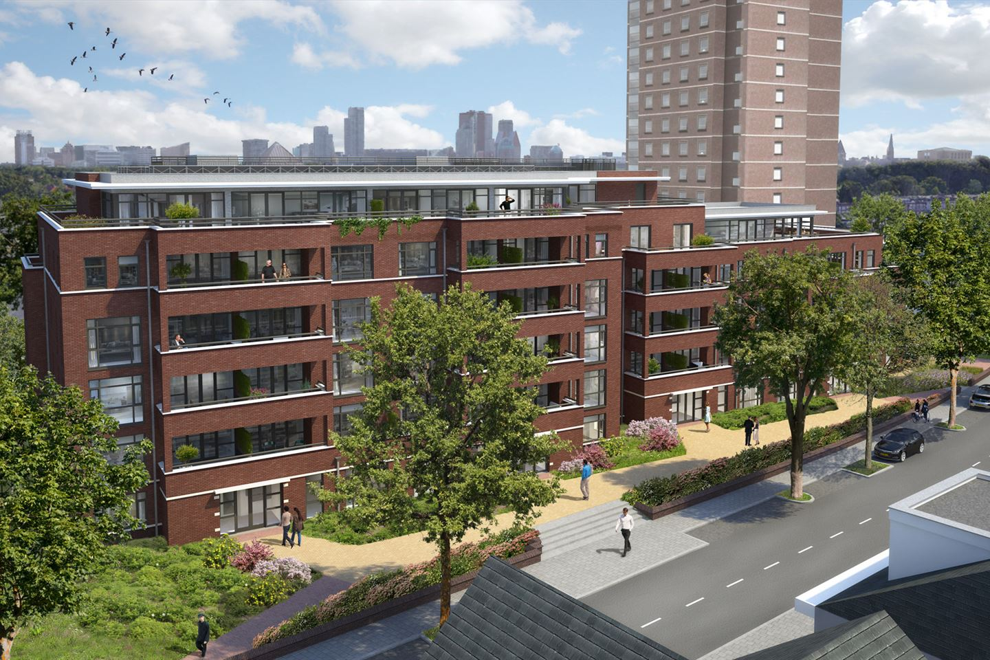 View photo 4 of Poortgebouw penthouse bnr (Bouwnr. 501)
