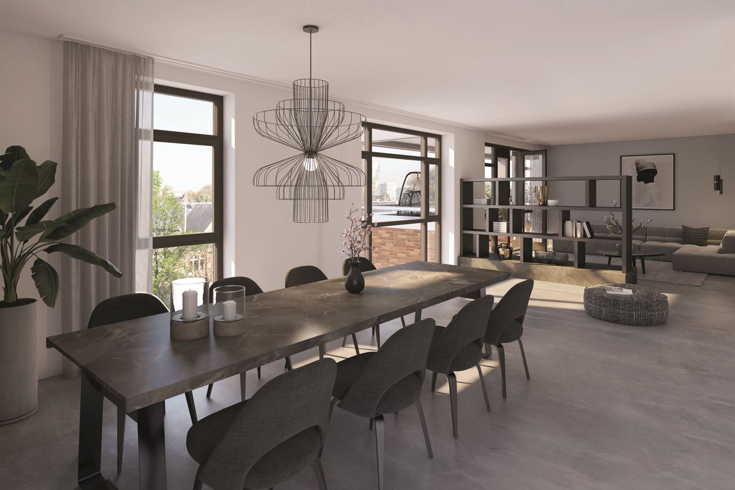 View photo 5 of Poortgebouw penthouse bnr (Bouwnr. 501)
