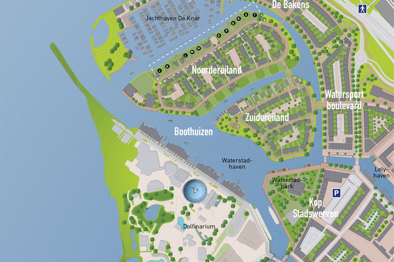 Bekijk foto 6 van Waterfront, 11 kavels Noordereiland (Bouwnr. Q)