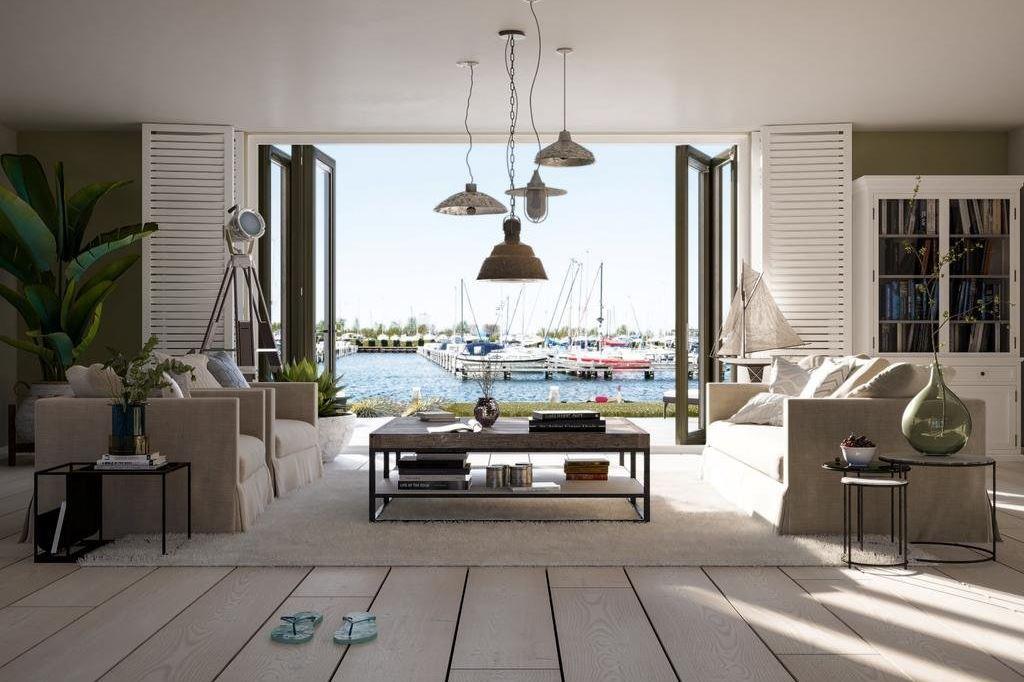 Bekijk foto 2 van Waterfront, 11 kavels Noordereiland (Bouwnr. S)