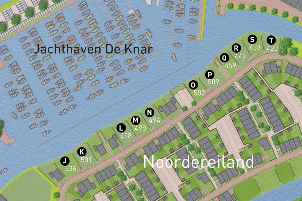 Bekijk foto 4 van Waterfront, 11 kavels Noordereiland (Bouwnr. S)