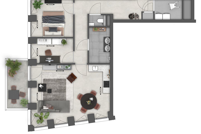 Bekijk foto 6 van 9.04 | 9e Verdieping | Next (Bouwnr. 904)