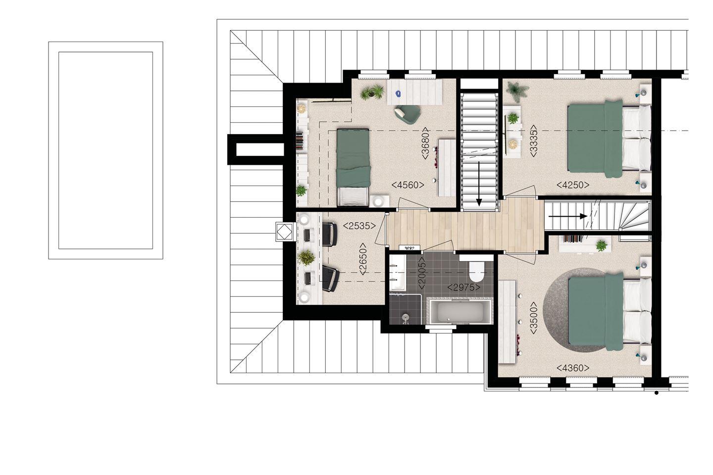 Bekijk foto 6 van Esserdael brede villa bnr. 11 (Bouwnr. 11)