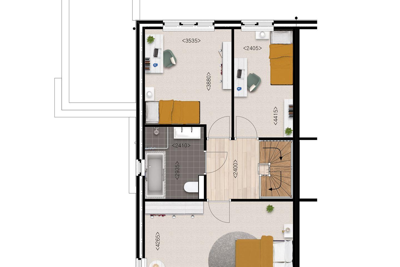 Bekijk foto 4 van Esserdael diepe villa bnr. 21 (Bouwnr. 21)