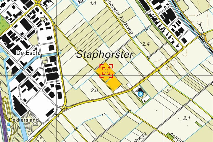 Oude Achthoevenweg, Staphorst