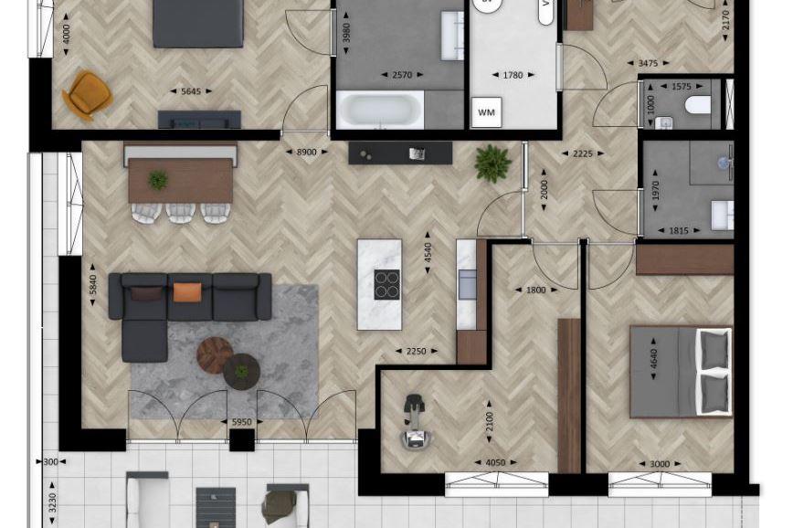 Bekijk foto 2 van Roosenhorst appartement (Bouwnr. 4)