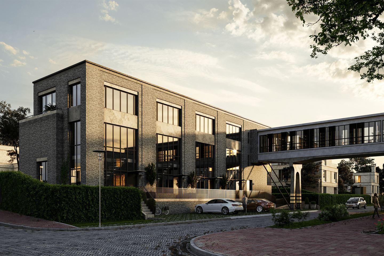 Bekijk foto 2 van 6 - Type Brugwoning - Bruggebouw - Strijp R (Bouwnr. 6)