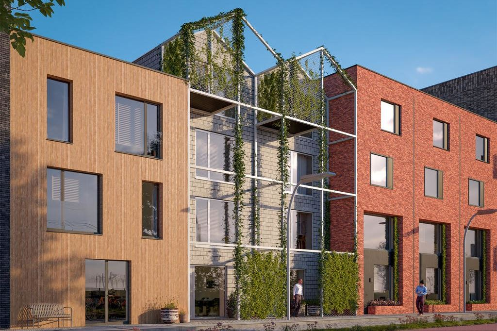 Bekijk foto 2 van Wisselspoor deelgebied 1 (appartementen) (Bouwnr. 91)