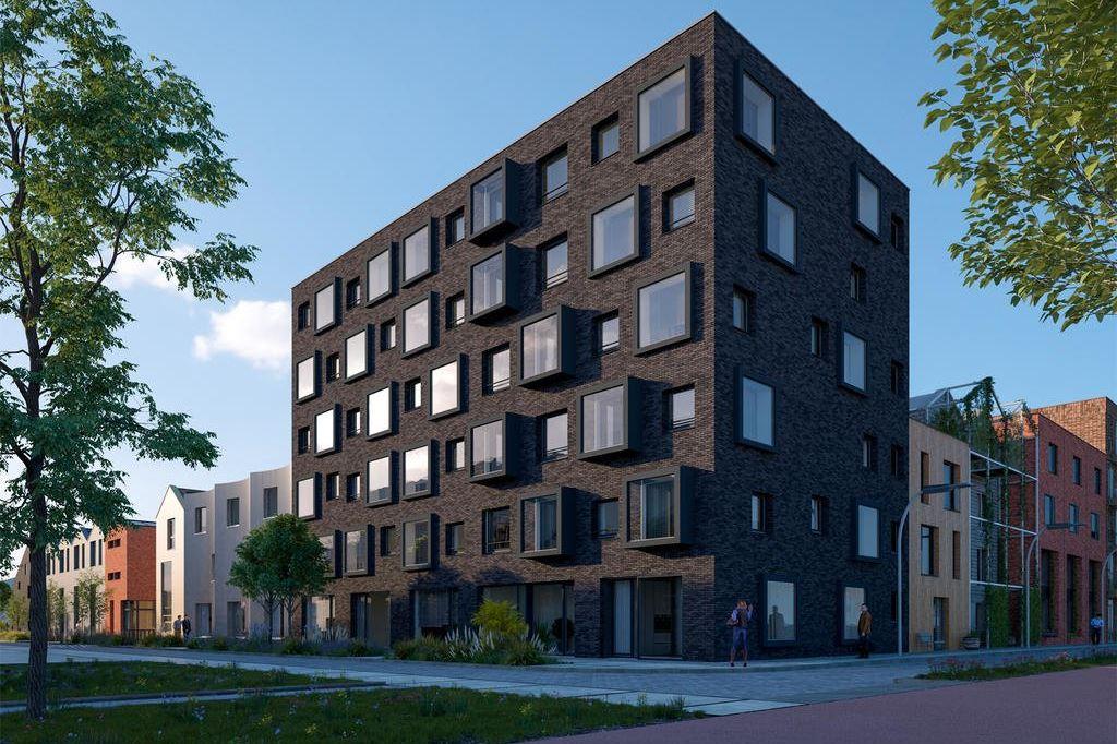 Bekijk foto 1 van Wisselspoor deelgebied 1 (appartementen) (Bouwnr. 106)
