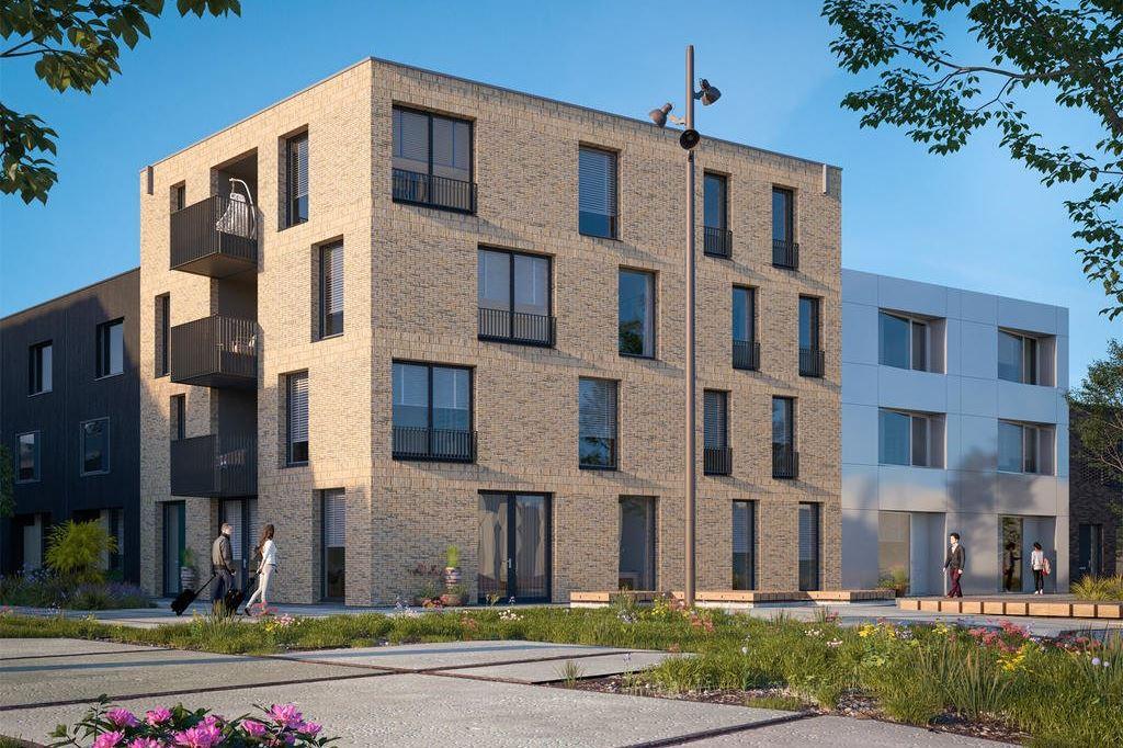 Bekijk foto 1 van Wisselspoor deelgebied 1 (appartementen) (Bouwnr. 4)